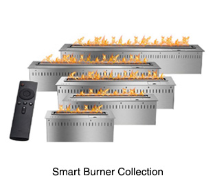 Smart RC Ethanol Burners